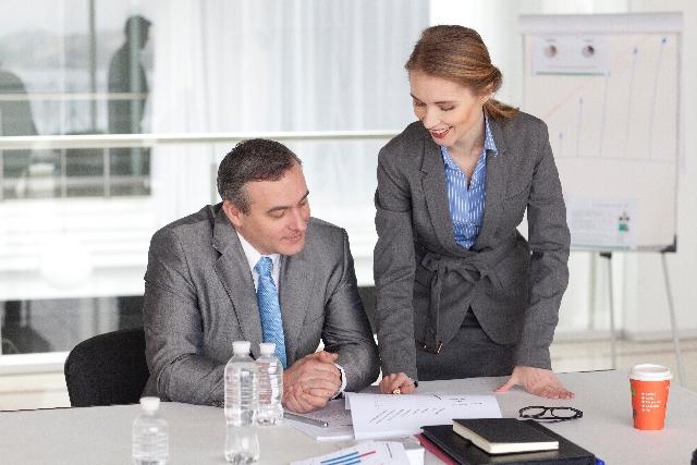 職場の風景:上司への質問